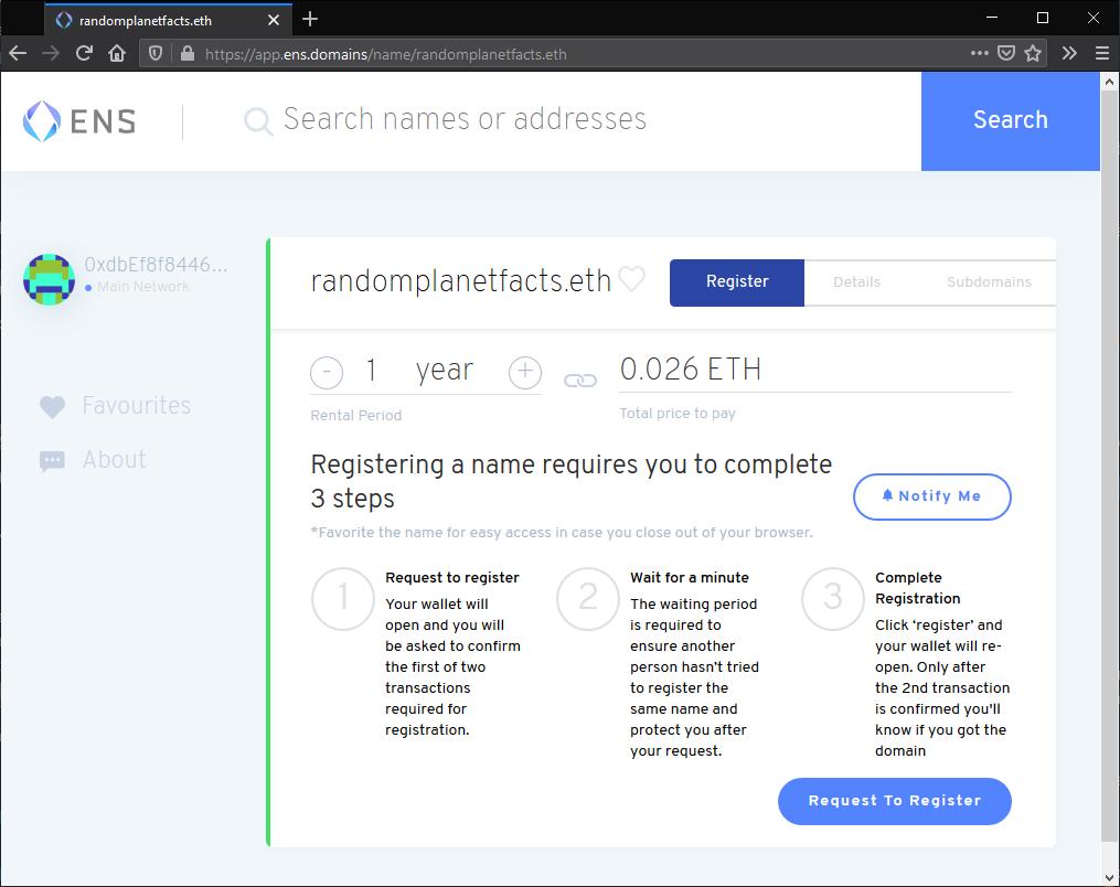 Link a domain   IPFS Docs
