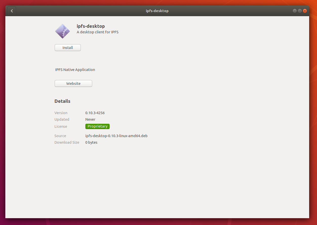 Install screen within the Ubuntu software installation window.